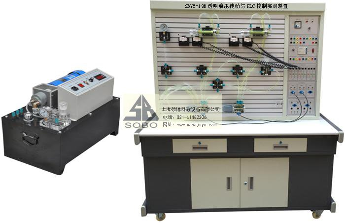 sbyy-19b透明液压传动与plc控制实训装置(外泵站)图片